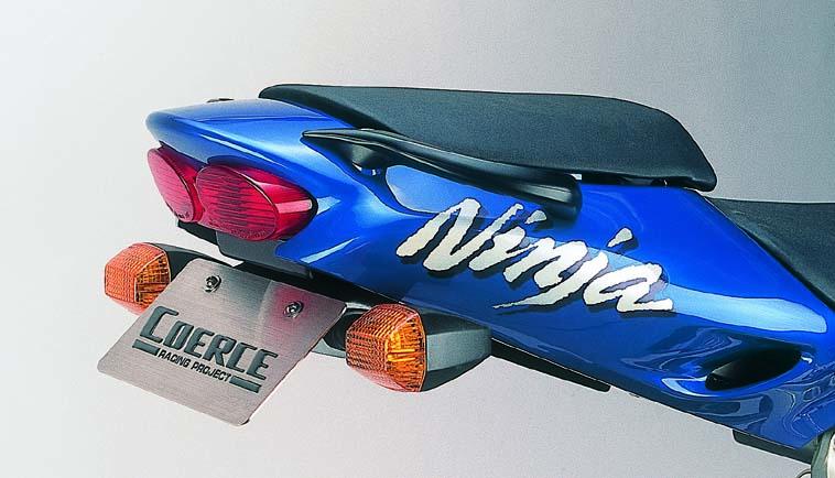 COERCE(コアース) フェンダーレスキット FRP黒ゲル '98/'99 ZX-9R (0-42-CFLF4904)