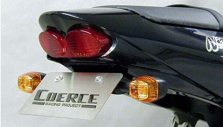 COERCE(コアース) フェンダーレスキット FRP黒ゲル '02/'03 ZX-9R (0-42-CFLF4907)