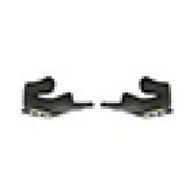 OGK(オージーケー) エアロブレード・5用 チークパッドセット (ダークグレー/M(25mm))