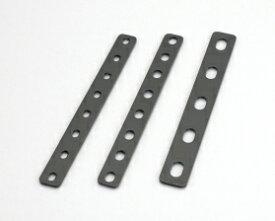 キタコ(KITACO) ユニバーサルステー ストレート200mm(2.3mm厚) M6ボルト用/8PLCS (0900-529-10101)
