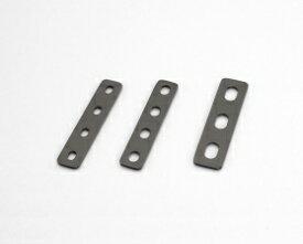 キタコ(KITACO) ユニバーサルステー ストレート100mm(2.3mm厚) M8ボルト用/4PLCS (0900-529-10302)