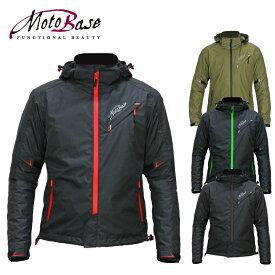 【在庫有】モトベース(MOTO BASE)秋冬春モデル 防風・防水 バイク用ジャケット プロテクション ウインドブレーカー ジャケット/MBWB-01