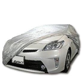【在庫有】人気 自動車用 お手軽 カバー ボディーカバー 車体カバー SKT-BBC-01/サイズ:プリウス・インサイト専用