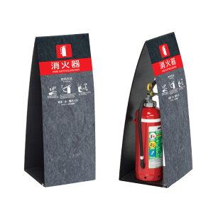 消火器ボックス ミセル消火器かくれんぼC 650 消火器 / 消火器収納 消火器格納箱 置き看板 消火器ケース 消火器box スタンド看板 /OT-558-262-C019