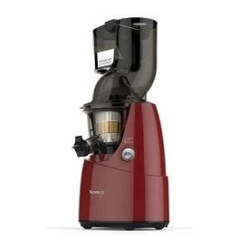 ホールスロージューサー クビンス JSG622R レッド 野菜 果物 ジューサー 石臼方式 低速搾汁方式 新品 送料無料