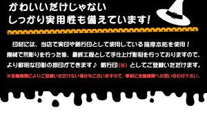 イラスト入りハロウィン印12.0ミリ本柘手仕上げ印鑑【ポスト投函送料無料】