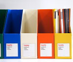 【DELFONICS】デルフォニックスビュローファイルボックス縦型【buro/デルフォニクス/デスクトップ/書類整理/文房具/デザイン/ステーショナリー/おしゃれ/カラフル】【カラフル文具ならイーオフィス】