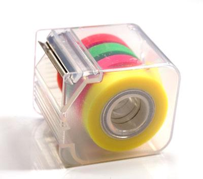 【ESSELTE/エセルテ】メモグラフ 9mm(4色でディスペンサーケース入り) MG08 【付箋 ふせん】【文房具/文具/デザイン/おしゃれ/ステーショナリー】【デザイン/おしゃれ/海外/輸入】【デザイン文具ならイーオフィス】