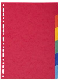 [EXACOMPTA エグザコンタ]カラーインデックス 6分割 EX1406文房具 デザイン おしゃれ ステーショナリー デザイン 海外 輸入