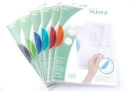 [LEITZ ライツ]カラークリップファイル LZ4174 クリップファイル 事務用品 オフィス 文房具 輸入文具 ステーショナリー ファイル 薄型 A4 カラフル 書類 デザイン 海外 輸入 プチギフト 退職 卒業
