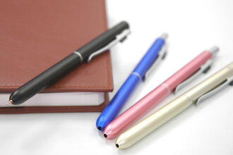 Auto multi-function pen biz 4 0.7 mm three color +0.5mm black MFC-15BA4