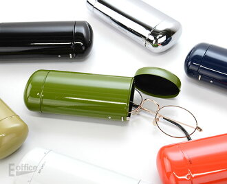 A popular glasses case of HIGHTIDE Corporation is renewed! It is a gift present in the casual clothes one-touch junior high student high school student university student adult Mother's Day when all seven colors of simple steel case GB279 design accessor
