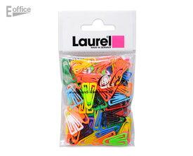 ドイツ製のプラスチッククリップ 定番人気タイプ 100 個入り Plastiklips0112-98プラスチック 文房具 文具 ステーショナリー 三角 蛍光 かわいい カラフル 書類 整理 デザイン おしゃれ 海外 輸入 ネオン ローレル