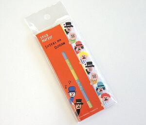 [MIND WAVE INC.]stick marker スティックマーカー SUTEKI NA OJISAN すてきなおじさん [付箋紙 ふせん 事務用品 文房具 ステーショナリー 手帳 メモ おもしろ かわいい ひょっこり][デザイン 海外 輸