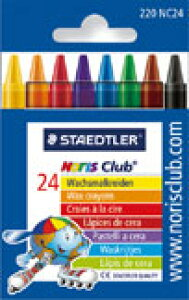 [STAEDTLER]ステッドラー ノリスクラブ クレヨン24色セット Ref.220NC24文房具 デザイン おしゃれ ステーショナリー デザイン 海外 輸入