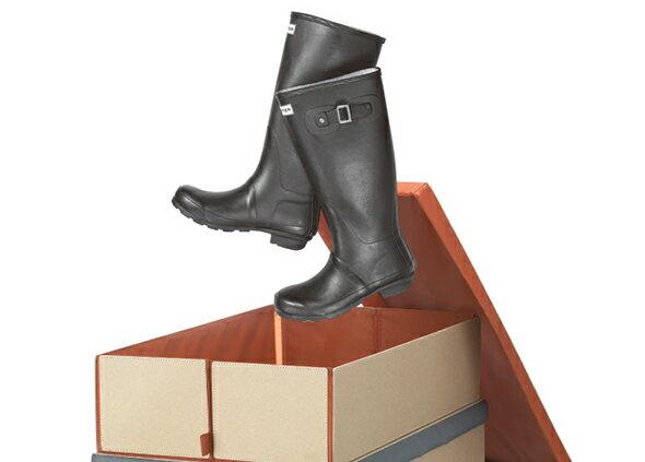【送料無料!】PATTA ブーツや靴の収納に便利! BOX A3+ PXA0303-O【シューズケース 靴 スペース ボックス ブーツ 収納 収納BOX 収納ボックス】【デザイン おしゃれ 海外 輸入】