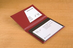TOTONOE トトノエ Card Holder カードホルダー 20ポケット THC0020カードケース 大容量 文房具 ステーショナリー デザイン おしゃれ 海外 輸入