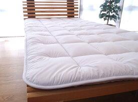 西川リビング ワイドダブルサイズ ベッド専用 いい按配敷き布団(日本製)ワイドダブルサイズ ベッドフィッティングパックシーツ付