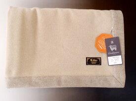 西川 ピュアカシミヤ毛布 カシミア100% シングル 日本製 オールカシミヤ