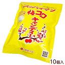 スッパイマン梅コロキャンディー 10個入り <ゆうメール可能> │沖縄お土産 上間菓子店│