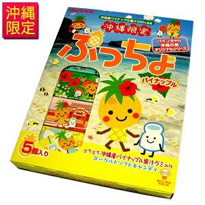 沖縄限定 ぷっちょ パイナップル 10粒×5本入 /沖縄土産 沖縄お土産 お菓子
