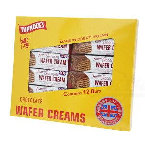 ターノック ウエハース24g×12P │英国製高級チョコレート菓子 │