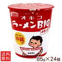 オキコラーメンBIG チキン味 2ケース(24個) 【送料無料】