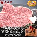 【父の日限定】【送料込み】近江牛サーロインステーキセット