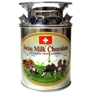 【スイスお土産がポイント10倍&2,990円以上送料無料!】スイスミルク缶チョコ1缶(スイスチョコレート)