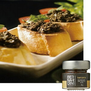 マッシュルーム&トリュフペースト30g 【イタリア お土産】|備蓄 食料|パスタソース ヨーロッパ イタリア土産 おみやげ 輸入