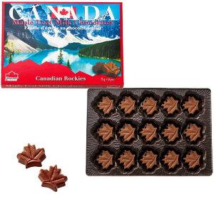 メープルリーフミルクチョコ 3箱セット【カナダ お土産】|チョコレート カナダ カナダ土産 おみやげ お菓子
