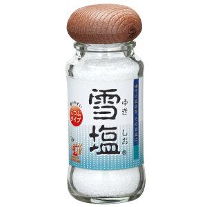 【沖縄土産】雪塩こつぶテーブルタイプ(瓶入り) 55g|沖縄 お土産 塩 宮古島 調味料 沖縄食品