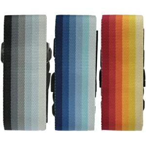 ワンタッチイージーフィットケースベルト(グラデーション)|スーツケース ベルト キャリーケース 簡単装着 旅行用品 トラベルグッズ