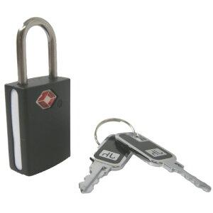 TSA南京錠 ブラックボディー SWT|旅行 セキュリティ 防犯グッズ 防犯対策 スーツケース 盗難防止 鍵