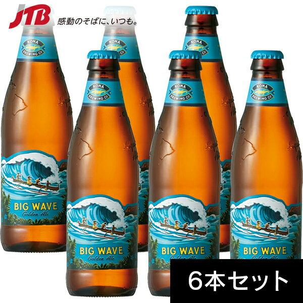 【ハワイ お土産】Kona コナビール ビッグウェーブ 355ml×6本セット|ビール お酒【お土産 お酒 おみやげ ハワイ 海外 みやげ】ハワイ ビール