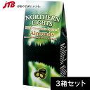 【アラスカ お土産】オーロラアーモンドミルクチョコ3箱セット|チョコレート アメリカ カナダ 南米 食品 アラスカ土…