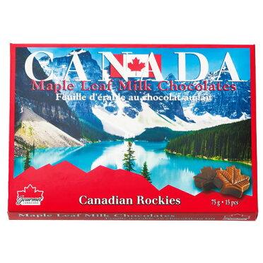 【カナダお土産】メープルリーフミルクチョコ6箱セット|チョコレート【お土産食品おみやげカナダ海外みやげ】カナダチョコレート