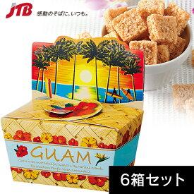 【グアム お土産】グアム ココナッツトースト6箱セット|ドライフルーツ 南の島々 食品 グアム土産 おみやげ