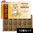 Koala King マスコットコアラ マカダミアナッツチョコ18粒入12箱セット コアラキング【オーストラリア お土産】 オー…