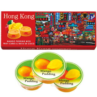 【香港お土産】香港マンゴープリン6箱セット|プリン・ゼリーアジア食品香港土産おみやげn0508
