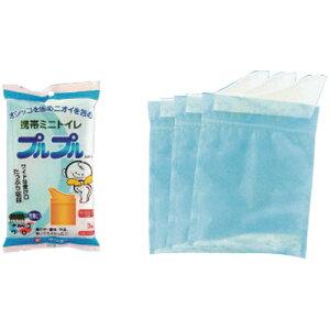 携帯用 ミニトイレ プルプル 3個入|トイレ 携帯用 日本製 非常用 簡易用 防災用 旅行用