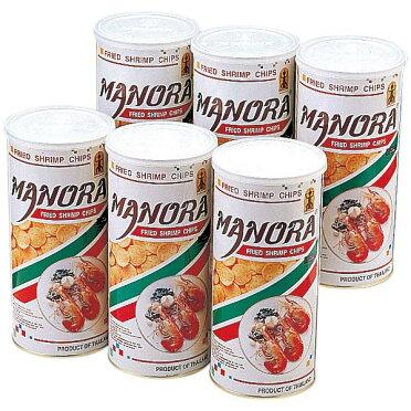 【タイお土産】フライドシュリンプチップス6缶セット スナック菓子東南アジア食品タイ土産おみやげお菓子n0524
