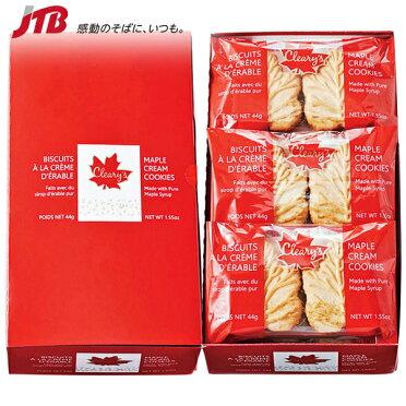 【カナダお土産】クリアリーズメープルクリームクッキー12袋セットお菓子 クッキーアメリカカナダ南米食品カナダ土産おみやげn0417