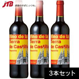 サグラダファミリア赤ワイン750ml 3本セット お酒【スペイン お土産】 赤ワイン ヨーロッパ お酒 スペイン土産 おみやげ