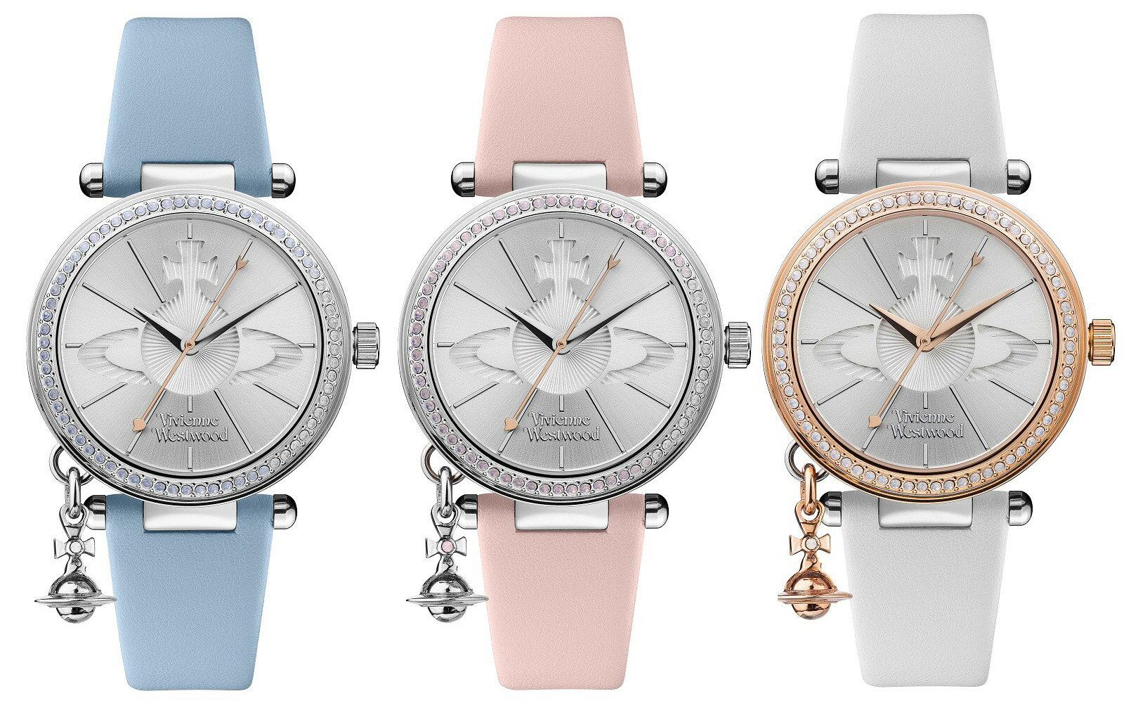 【最新商品】ヴィヴィアン ウエストウッド vivienne westwood 腕時計 レディース オーブ ブルー ホワイト ピンク ペア VV006BLBL VV006RSWH VV006SLPK