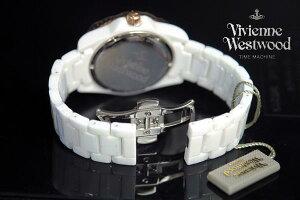 【海外正規品】VivienneWestwoodヴィヴィアンウエストウッド腕時計CeramicVV048RSWHユニセックス