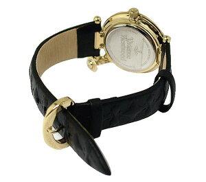 【海外正規品】VivienneWestwoodヴィヴィアンウエストウッド腕時計VV006BKGDレディース