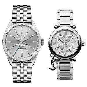 【特典付き】ヴィヴィアンウエストウッドviviennewestwood腕時計ペアウォッチフィンズバリーオーブネイビーブルーピンクレザーVV065NVBKVV163BGPK