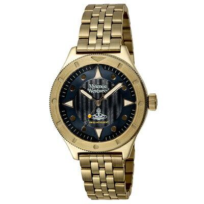 Vivienne Westwood ヴィヴィアンウエストウッド 腕時計 VV160NVGD メンズ