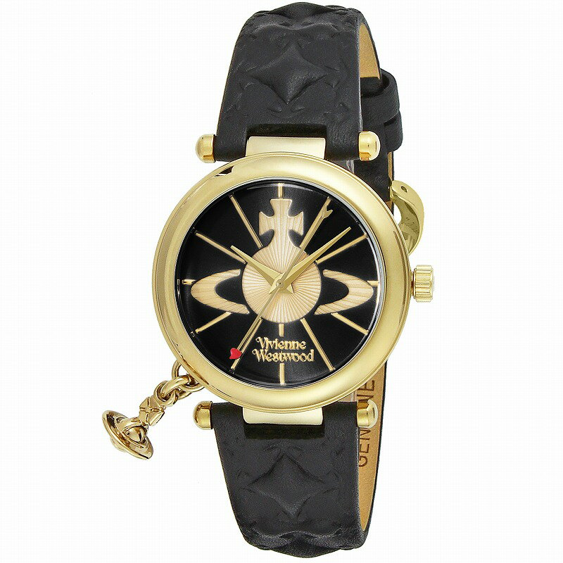 Vivienne Westwood ヴィヴィアンウエストウッド 腕時計 VV006BKGD レディース